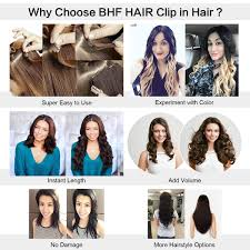 How To Use Remy Clip In Hair Extensions by Amazon Com 14