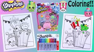shopkins crayola coloring pages sharpie season 4 5 pack