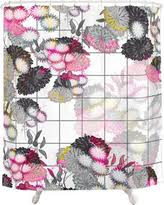Shabby Chic Floral Curtains by Amazing Deal Cascade Shabby Chic Ruffled Sheer Shower Curtain White