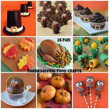 25 thanksgiving food crafts appetizers and desserts