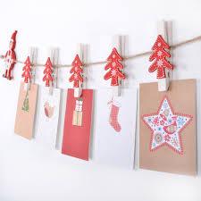 christmas card holder novelty christmas card holder garland with christmas tree shaped
