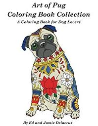amazon pug lovers coloring book loved dogs