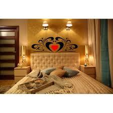 headboard wall art romantic bedroom wall art stickers always kiss me goodnight