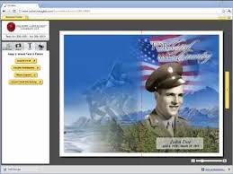 funeral program software funeral program online image editing