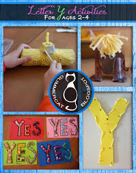 glimmercat letter y activities for ages 2 to 4 yak craft sight