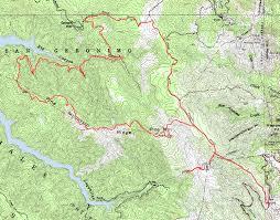 Marin Map Pine Mountain Loop Bay Area Mountain Bike Rides