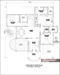 Floor Plan Two Storey by Two Storey Four Bedroom House Design At 3236 Sq Ft With Plan