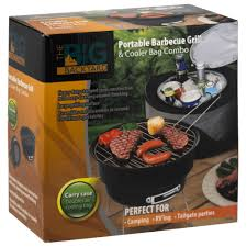 the big backyard portable barbecue grill u0026 cooler combo yugster
