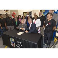 lexus north miami career toyota partners with tarrant county college to launch industry