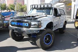 bronco car sema 2017 one bad bronco makes it to battle of the builders top 12