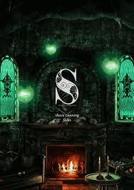 slytherin hogwarts house animation from thebloodybaron