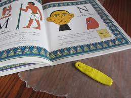 the unlikely homeschool ancient egypt make a cartouche