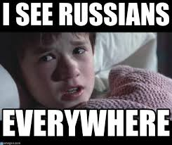 Russians Meme - peter hitchens there is no russian threat to britain puppet