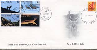 isle of rona stamps