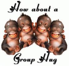 Group Hug Meme - new im back meme group hug bristol rovers gaschat forum kayak