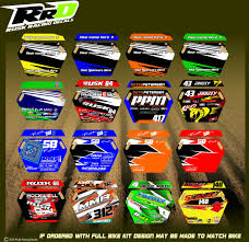 personalized motocross jersey rusk racing custom motocross graphics and decals thick stickers