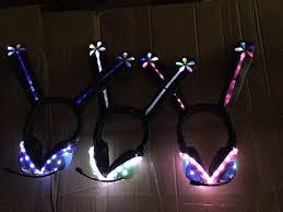 Light Cyber Love Live Love Light Up Led Cyber Headphones On Storenvy