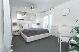 bedroom grey and white bedroom ideas wood door brown walls and