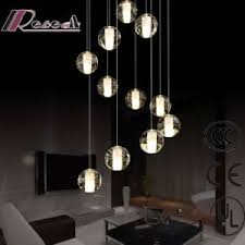 Glass Balls Chandelier China Solid Bubble Crystal Clear Glass Balls Project Chandelier