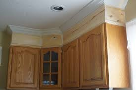 kitchen cabinet moulding ideas crown molding on top of kitchen cabinets homecrack com