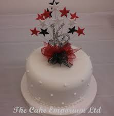 b cake topper cake topper burst spray diamante birthday anniversary