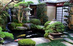 how to design a backyard japanese water garden design with water feature nytexas