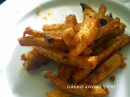 frites de rutabaga épicées cuisiner avec ses 5 sens