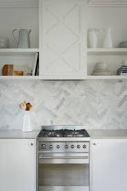 herringbone kitchen backsplash kitchen with marble herringbone backsplash ellajanegoeppinger com