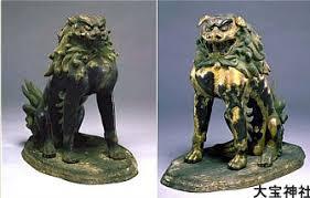 shishi statue shishi lion protector in japanese buddhism and shintoism