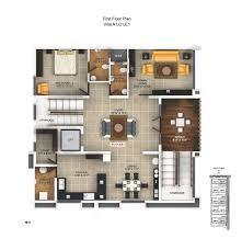 plan villa independent villas in chennai luxurious 4 bhk homes in ecr