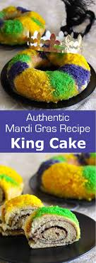 king cake traditional mardi gras recipe 196 flavors
