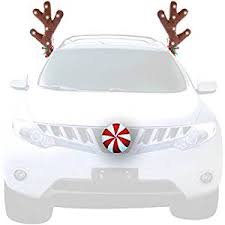 reindeer antlers for car wow antlers 14 led vehicle reindeer antlers with