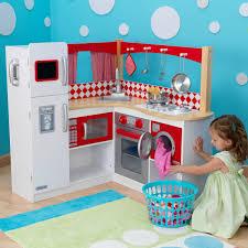 kidkraft küche gebraucht kidkraft große kinderküche spielküche grand gourmet rot aus holz