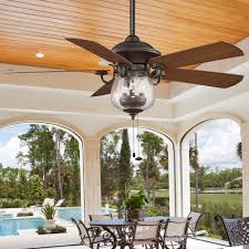 indoor outdoor cloche glass ceiling fan ceiling fans indoor