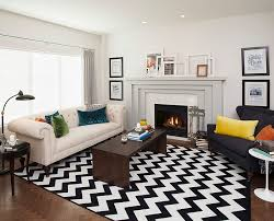 Rugs Modern Living Rooms Chevron Pattern Ideas For Living Rooms Rugs Drapes And Accent