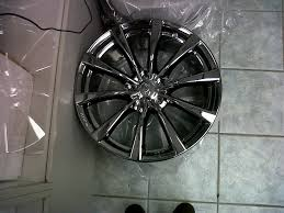 image result for black chrome powder coat