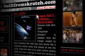 dragon ball evolution nutshack website
