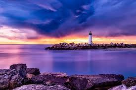 Lighthouse Light Free Photo Lighthouse Nautical Ocean Travel Sea Tower Beacon Max