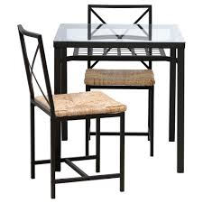 black and white dining table with minimalist metal frame table
