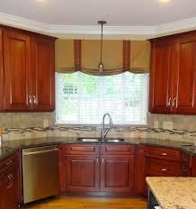 kitchen custom kitchen window treatments home design awesome