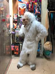 abominable snowman costume yeti abominable snowman mascot costume
