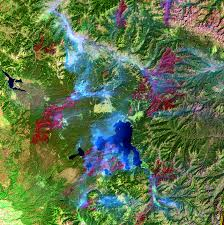 National Park Map Usa by Yellowstone National Park Usa Earthshots Satellite Images Of