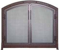 Arched Fireplace Doors by Stoll Fireplace Inc