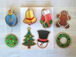12 free ornaments printables and a craft
