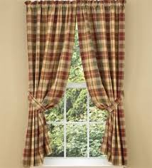 Cabin Valances Plaid Curtains Green Bj U0027s Country Charm Sage Green Plaid