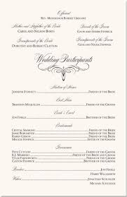 wedding program order stunning catholic wedding program exles ideas styles ideas