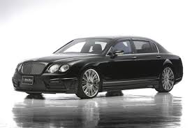 black bentley sedan bentley u0027s flying spur gets wald u0027s black bison design wemotor com
