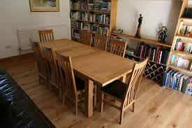Dining Room Furniture Oak Oak Dining Table And 8 Chairs Yoadvice