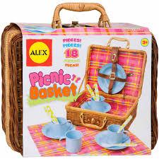 kids picnic basket alex toys picnic basket walmart