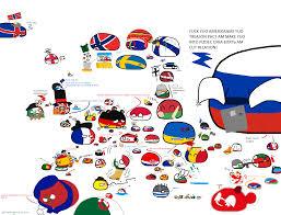 Map If Europe Polandball Map Of Europe 2017 Polandball